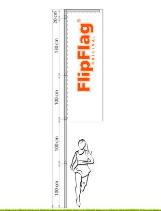 FlipFlag ECO - Die Stangensegmente