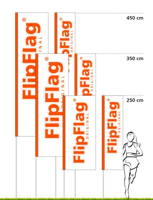 FlipFlag ECO - Transportabler Fahnenmast mit System