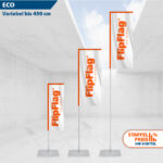 FlipFlag ECO - Fahnenmast mit Fahne transportabel